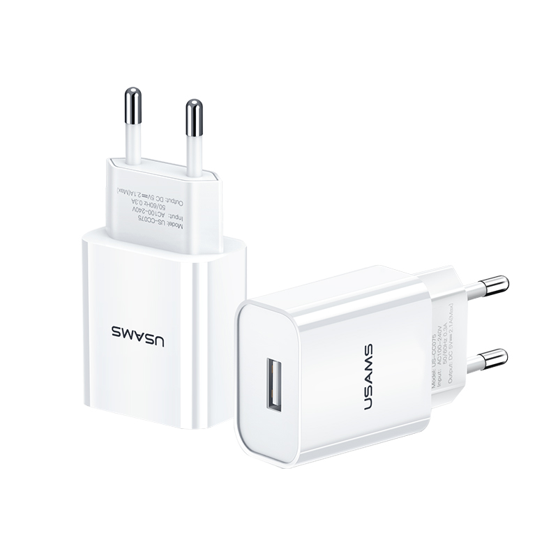 US-CC075 T18 Single USB Travel Charger (EU)