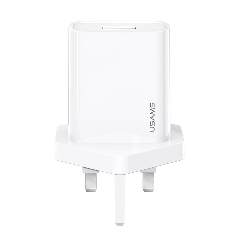 US-CC116 T18 Single USB Travel Charger(UK)