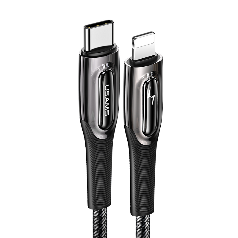 US-SJ496 Type-C To Lightning 20W PD Fast Charging & Data Cable --Raydan Series