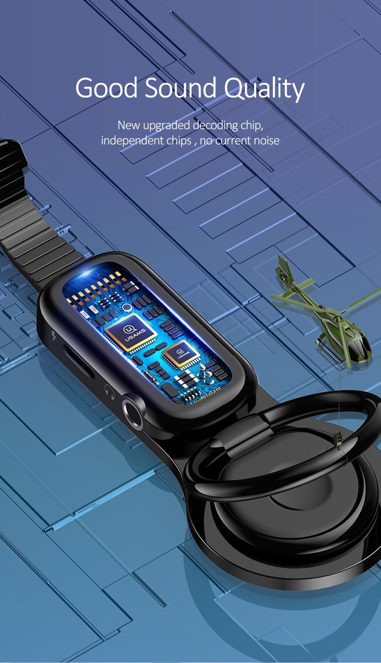 Us Sj275 Au06 Lightning To 3 5mm Audio Lightning Plug Ring