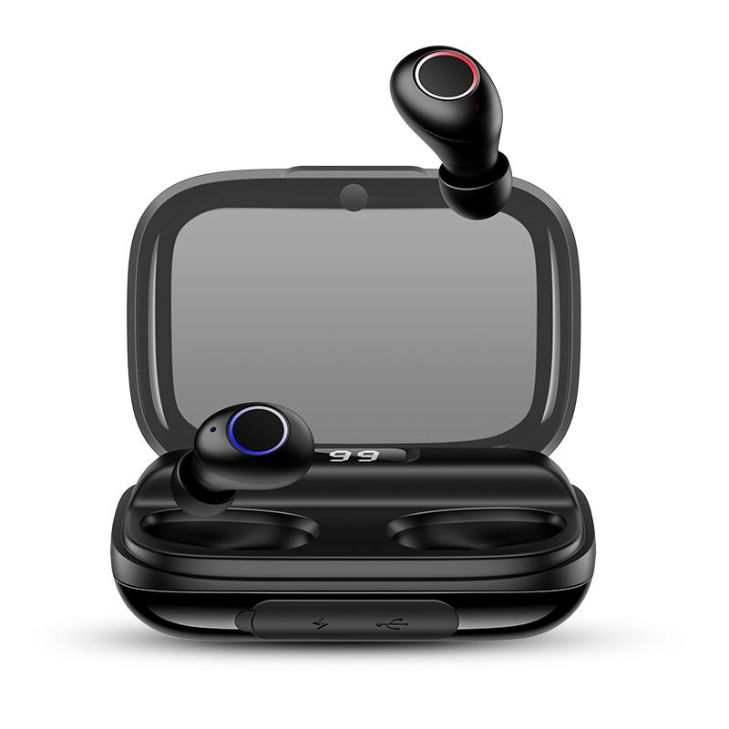 US-YJ001 Digital Display Wireless Earphone - YJ Series