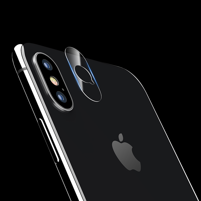 Camera lens glass film for iPhone X