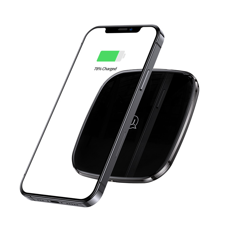 US-CD154 Zinc Alloy Ultra-thin Fast Wireless Charger