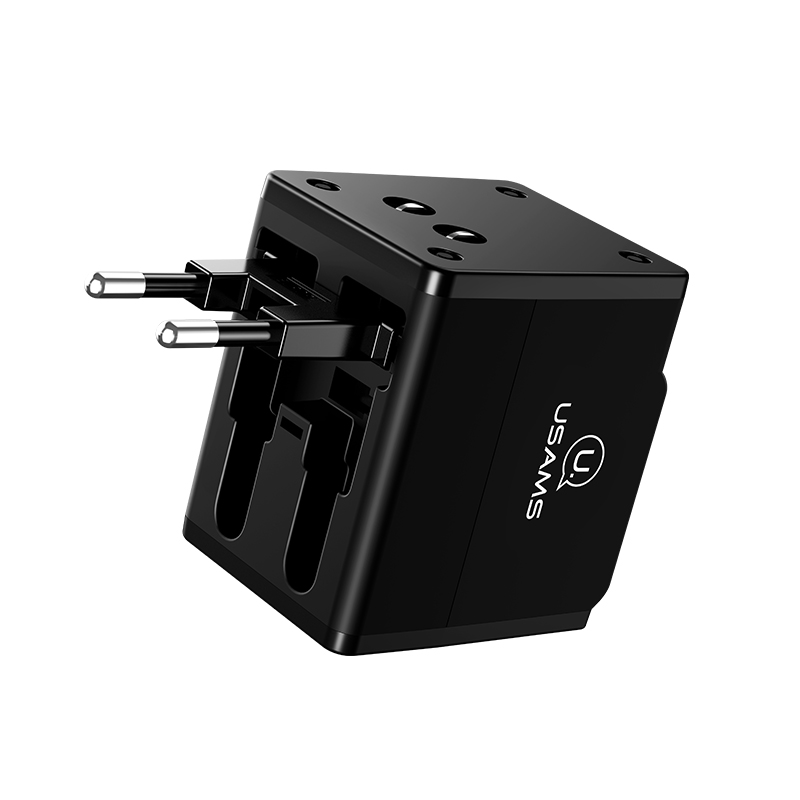 US-CC044 T2 Dual USB Universal Travel Charger