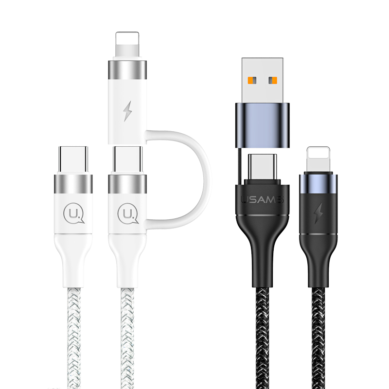 US-SJ403/US-SJ404 U31 Series PD Fast Charging and Data Cable 60W/30W