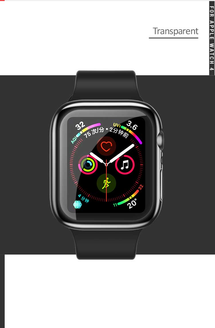 Us Bh485 Tpu Full Protective Case For Iwatch4