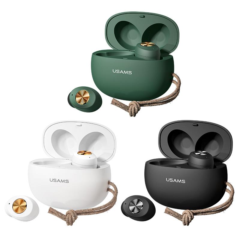 US-ES001无线蓝牙 迷你TWS双耳式耳机 鹅卵石系列