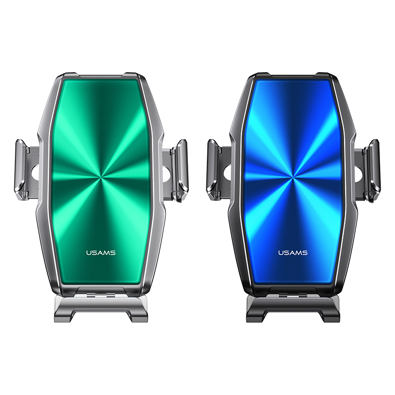 US-CD134 FOD + Coil Automatic Induction 15W Wireless Charging Car Holder--Zenya Series ((Air Vent)