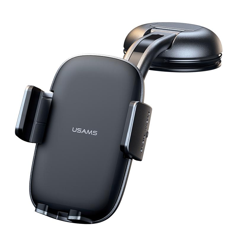 US-ZJ063 Car Center Console Retractable Phone Holder