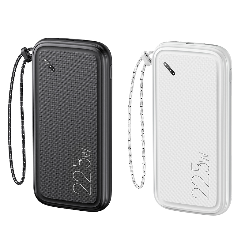 US-CD151 PB56 PD3.0 +QC3.0 Fast Charging Power Bank with Lanyard 10000mAh